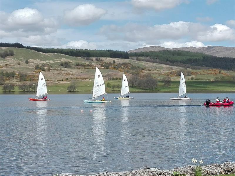 Calm during the T2 Challenger Travellers at Loch Venachar - photo © Enid McPartlin