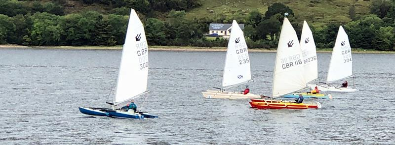 Sailability Scotland Challenger T6 Travellers at Fort William - photo © Dik Toulson