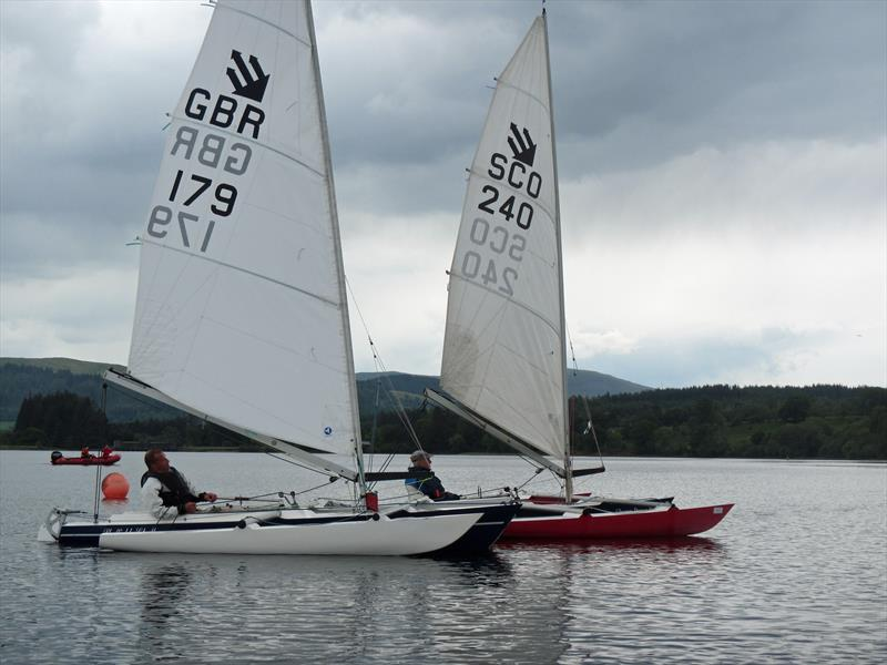 Sailability Scotland SCIO T3 Challenger Open at Loch Venachar - photo © Dik Toulson