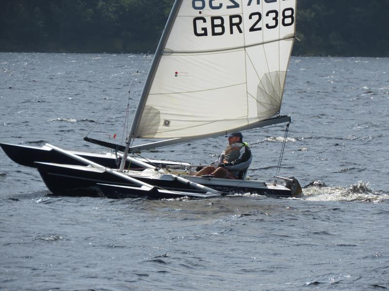 Stephen Thomas Bate during the Sailability Scotland SCIO T4 Regatta at Loch Earn - photo © Dianne Donaldson