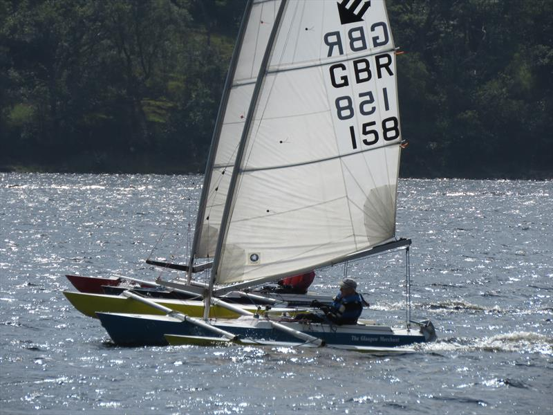 Close racing during the Sailability Scotland SCIO T4 Regatta at Loch Earn - photo © Dianne Donaldson