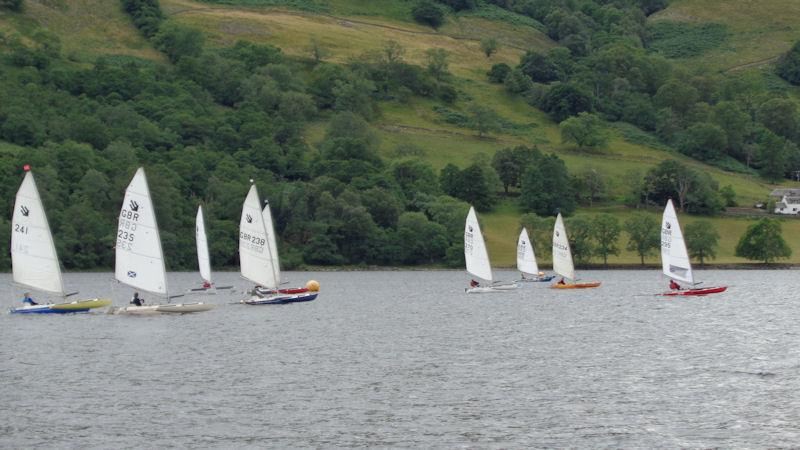 Sailability Scotland Challenger Traveller 4 at Loch Earn - photo © Marion Edwards