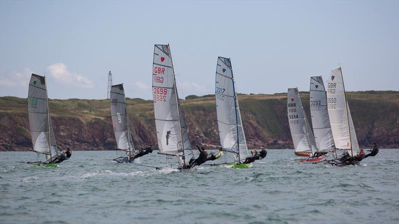 Cherub Nationals at Pembrokeshire Yacht Club - photo © PYC