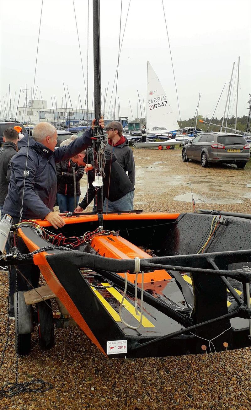 Cherub Autumn Blast at Queen Mary Sailing Club