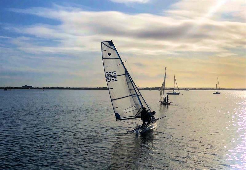 Cherub Inland Championship at Queen Mary Sailing Club