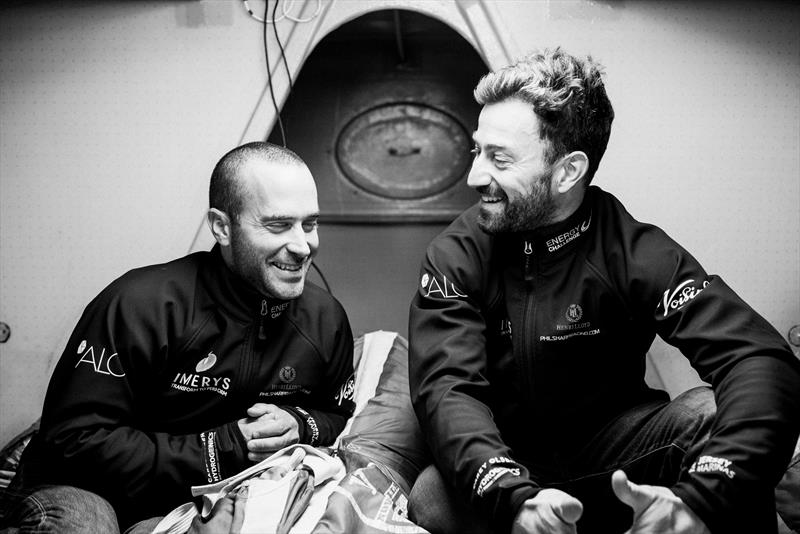 Pablo Santurde & Phil Sharp ahead of the Transat Jacques Vabre photo copyright Jean-Louis Carli taken at  and featuring the Class 40 class