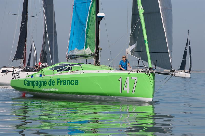 Campagne de France during the RORC Cervantes Race - photo © RORC / Hamo Thornycroft / www.yacht-photos.co.uk