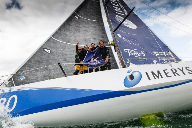 Line honours for Imerys Clean Energy in the Sevenstar Round Britain and Ireland Race - photo © Paul Wyeth / RORC