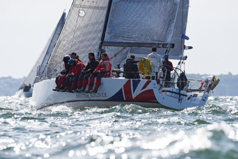 Army Sailing Association's entry X-41 British Soldier - photo © RORC