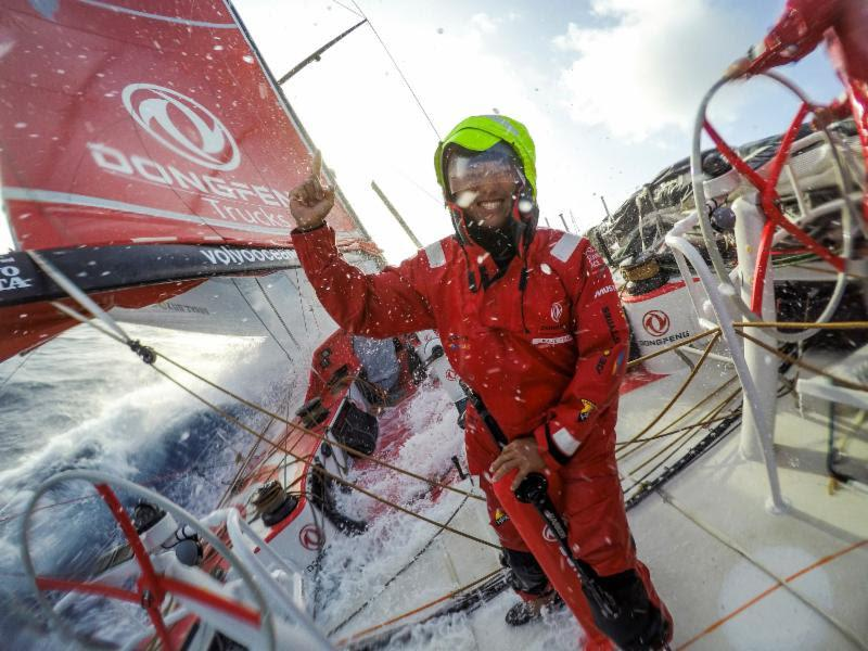 Chen Jin Hao (aka Horace) - photo © Sam Greenfield / Dongfeng Race Team
