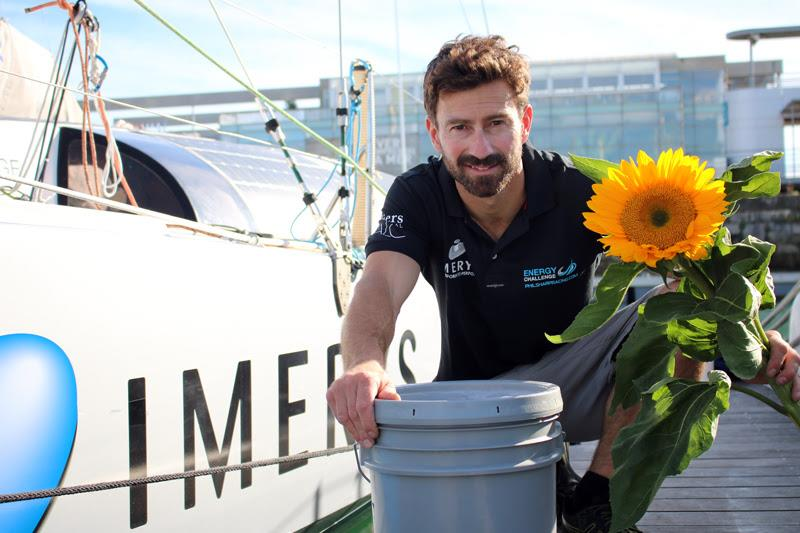 Phil Sharp goes Fossil-Free for the Route du Rhum