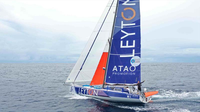 40ft monohull, Leyton - Transat Jacques Vabre photo copyright TJV taken at  and featuring the Class 40 class