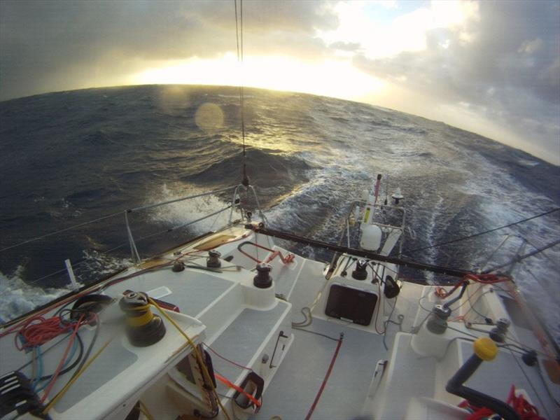 Class40 in the Southern Ocean - photo © Global Solo Challenge