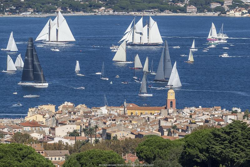 Les Voiles de Saint-Tropez 2019 day 4 - photo © Gilles Martin-Raget