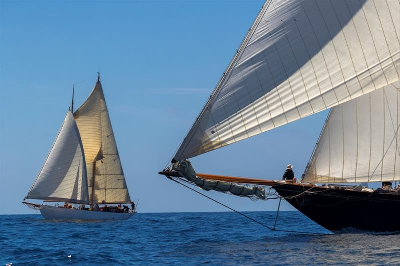 The International Schooner Association is developing polars for the schooners to improve the accuracy of their pursuit races - Capri Classica 2019 - photo © Gianfranco Forza