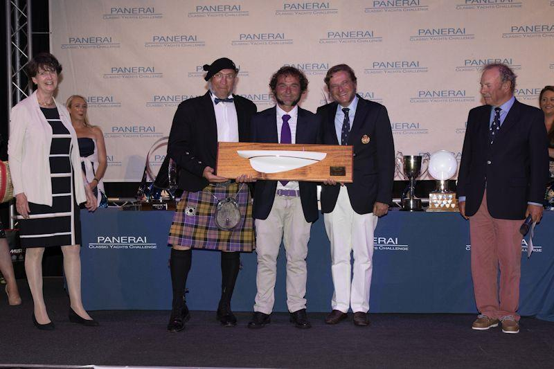 The 'je ne sais quoi' trophy awarded at Panerai British Classic Week 2019 - photo © Chris Brown
