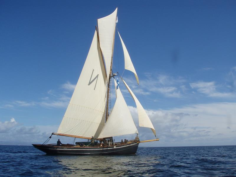 Mascotte, a 1904 Bristol Pilot Cutter makes a return - photo © Josh Roper