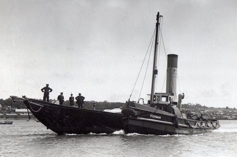 Britannia's last voyage in 1936 - the will of King George V stipulated she be scuttled on his death - photo © K1 Britannia Cowes