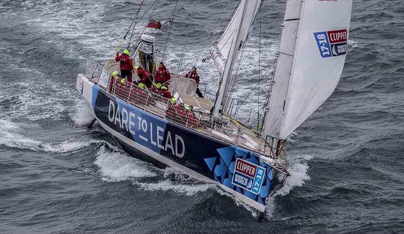 Clipper 2017-18 Round the World Yacht Race - Dare To Lead Team photo copyright onEdition taken at  and featuring the Clipper 70 class