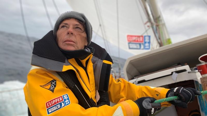 On board Qingdao - The Clipper Race Leg 2 - Race 3, Day 16 - photo © Yadi Guan