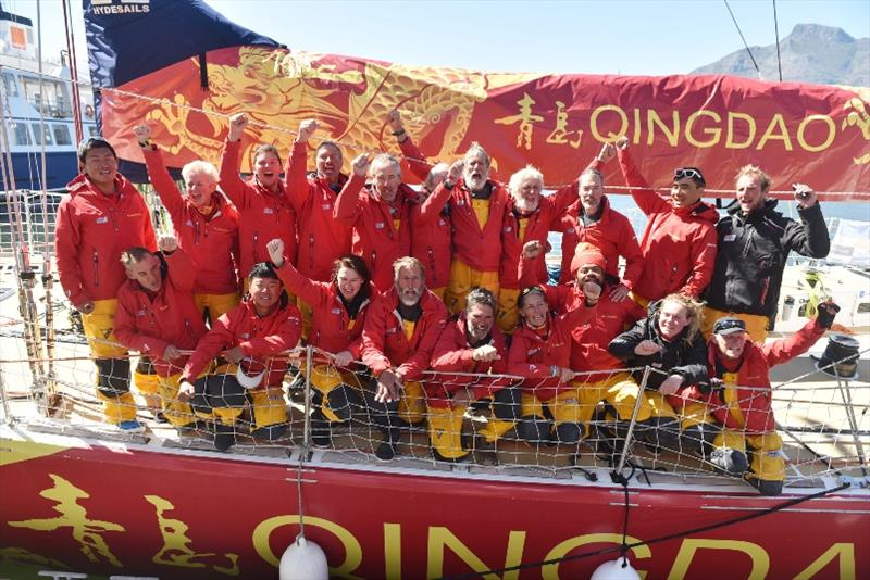 Qingdao wins standoff in South Atlantic Showdown - The Clipper Race Leg 2 - Race 3, Day 17 - photo © Clipper Race