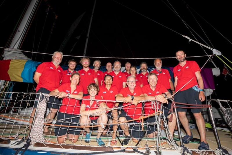 Imagine your Korea - The Clipper Race Leg 4 - Race 5, Day 20 - photo © Clipper Race