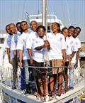 Sapinda Rainbow Foundation ambassadors from the 2013-14 Clipper Race © Sabelo Mngoma