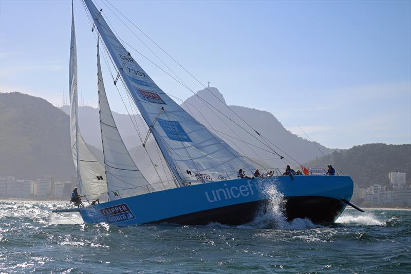 Unicef Clipper Race yacht - photo © Clipper Ventures