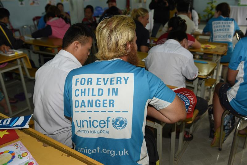 The Clipper Race working with Unicef in Vietnam - photo © Brendan Esposito