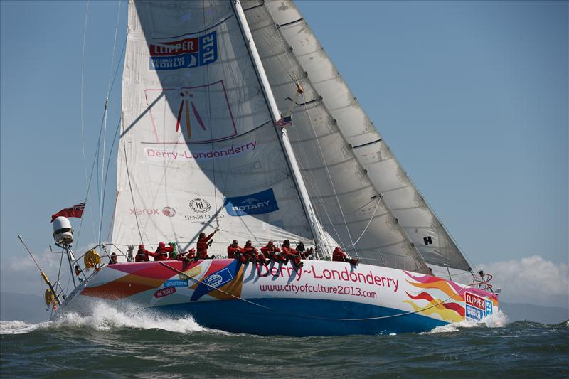 Clipper 11-12 Round the World Race - Race 10 Day 1