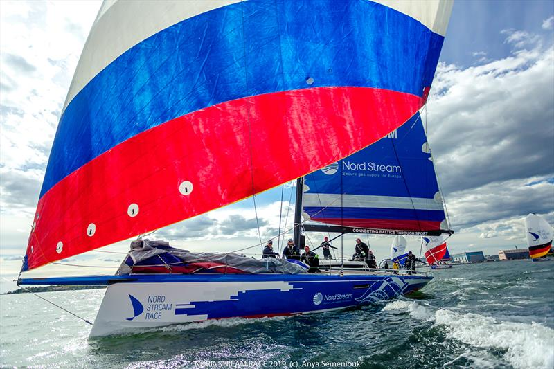 The Nord Stream Race connects the Baltic Sea