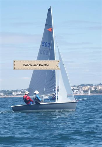 Noble Marine Comet Trio Nationals at Exe Sailing Club - Overall