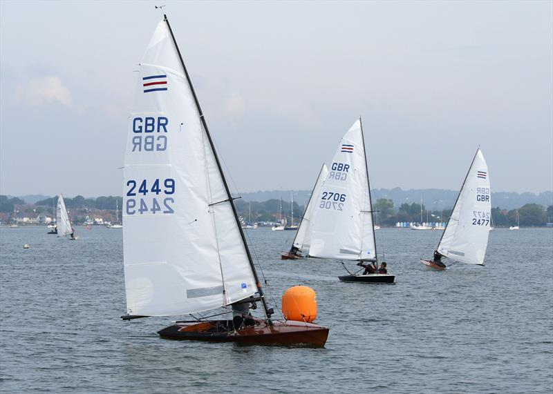Contender fleet blessed/tormented with light winds at Poole - photo © Mike Millard