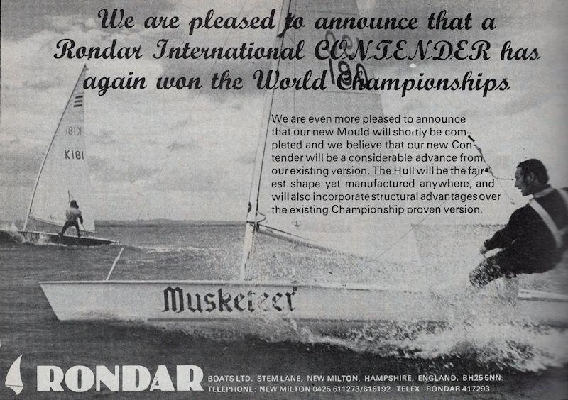 Three consecutive Worlds victories for David Pitman (seen here sailing Musketeer) - photo © Rondar