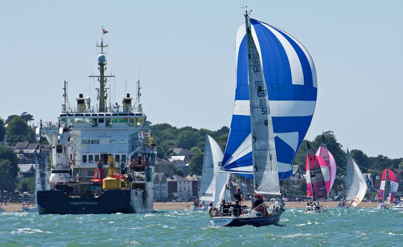 Lendy Cowes Week day 2 - photo © Tom Hicks / www.solentaction.com