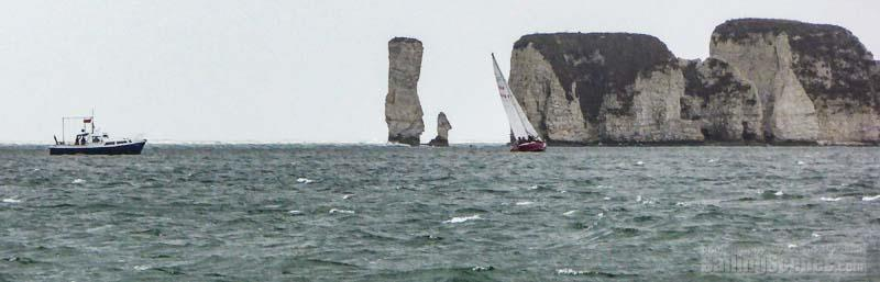 Trican (GBR8876T, Contessa 32) on day 8 of the Poole Bay Winter Series - photo © David Harding / www.sailingscenes.com