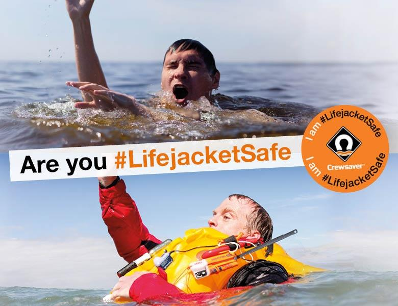 Are you #LifejacketSafe - photo © Crewsaver