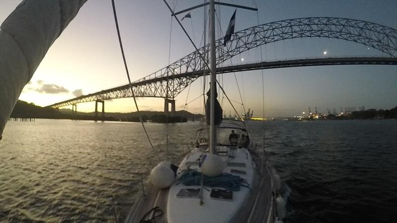 The World ARC fleet crossed the Panama Canal photo copyright World Cruising taken at  and featuring the Cruising Yacht class