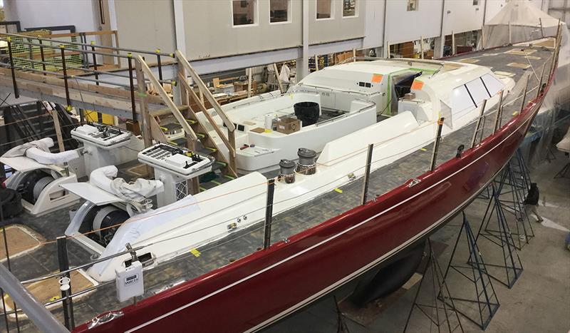 Red Sky - photo © Lyman-Morse Boatbuilding