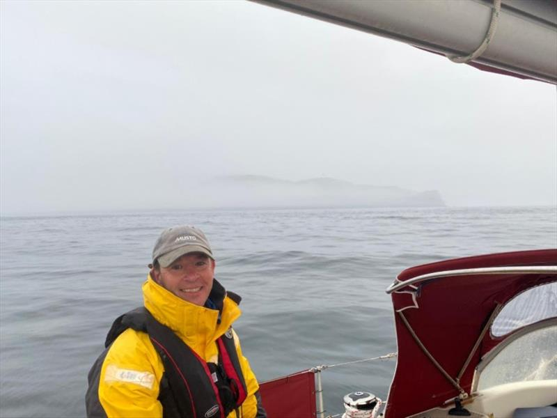 Stephen Salter won a new set of Gill OS2 during Promo Week - photo © The Cruising Association