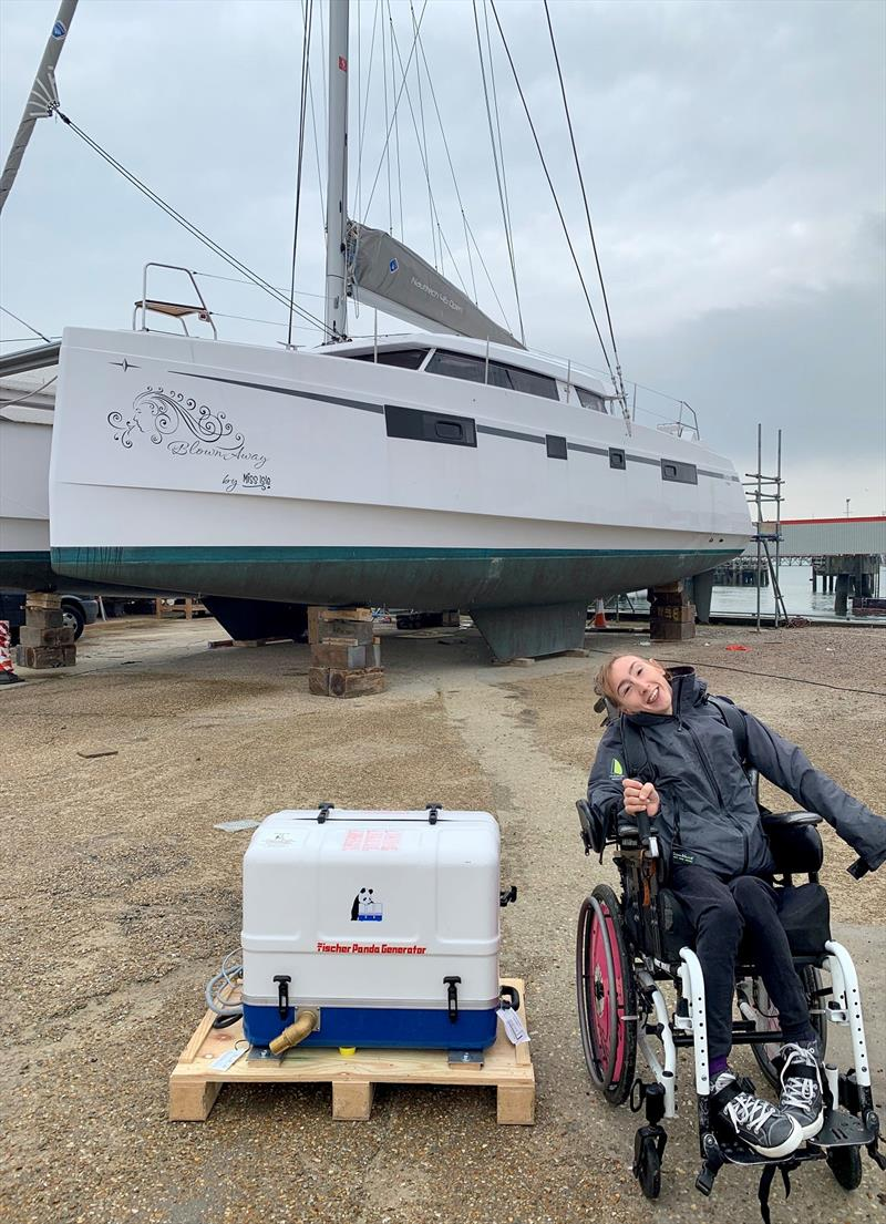Sailor and adventurer Natasha Lambert is preparing for the ARC 2020 photo copyright Saltwater Stone taken at  and featuring the Cruising Yacht class