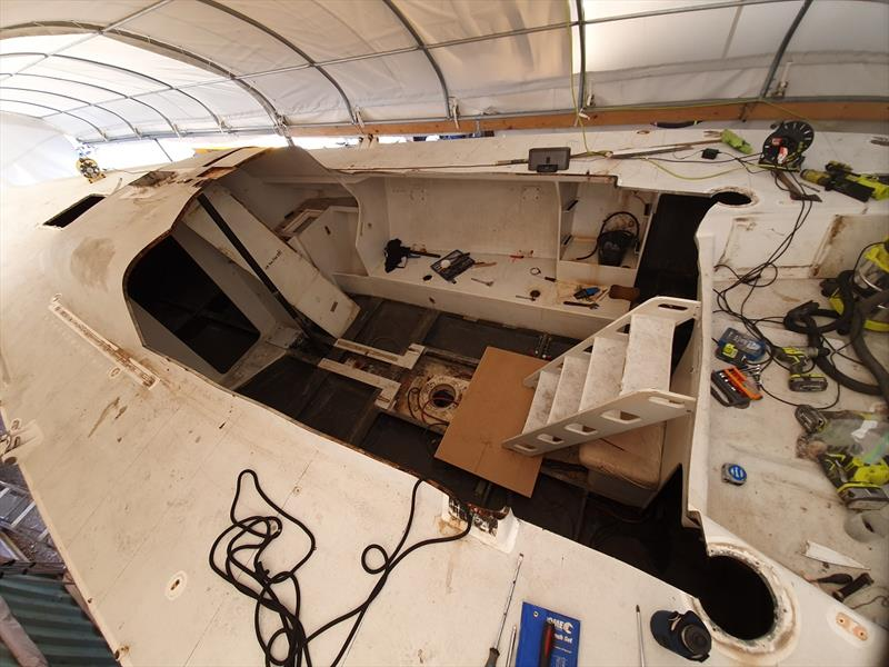 Open saloon - J-Bird III Restoration Series - photo © Ian Thomson