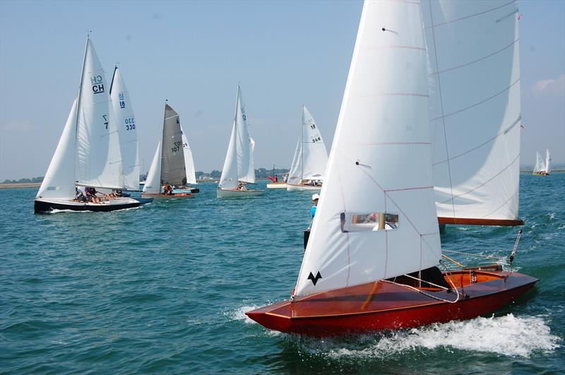 The fast handicap fleet at the Bosham Classic Dinghy Revival - photo © David Henshall Media