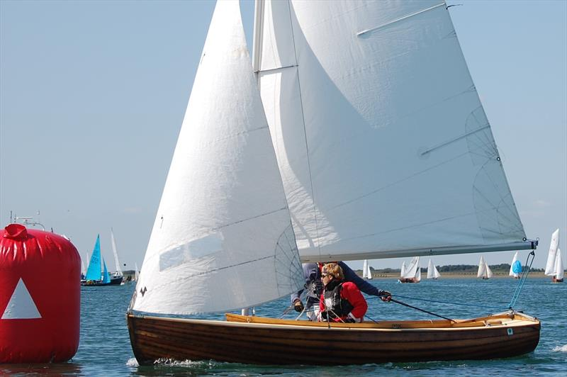 The sailing areas bordering the Solent, with an emphasis on Portsmouth, Langstone and Chichester Harbours were a fertile breeding ground more many small dinghy classes, hence the need for a local handicapping situation - photo © David Henshall