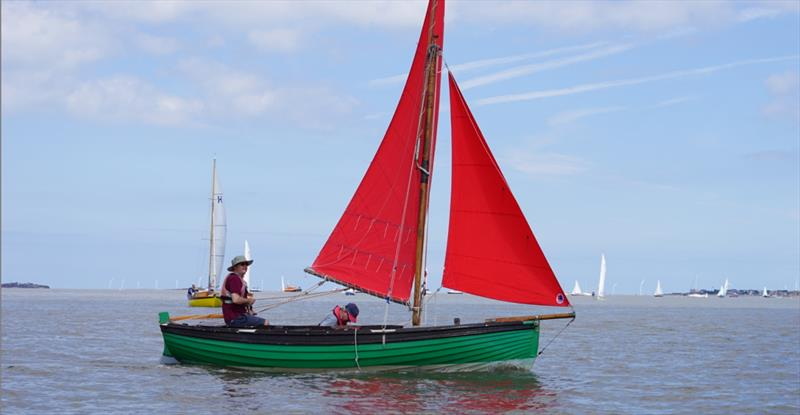 West Kirby Star Class winner David Mayhew during the West Kirby Sailing Club Regatta - photo © Alan Jenkins & Alan Dransfield