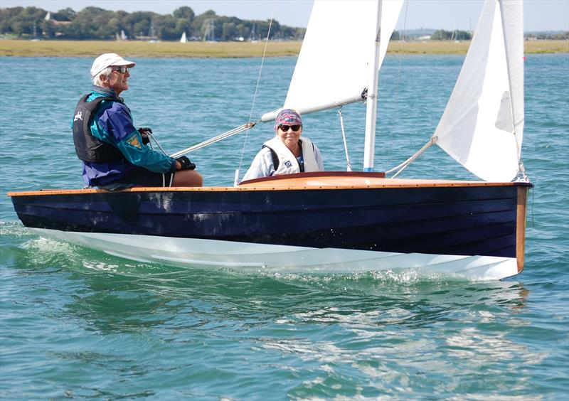 The one N12 that competed was yet another 'barn find' that had been restored with this event in mind at the Bosham Classic Boat Revival 2018 - photo © Dougal Henshall