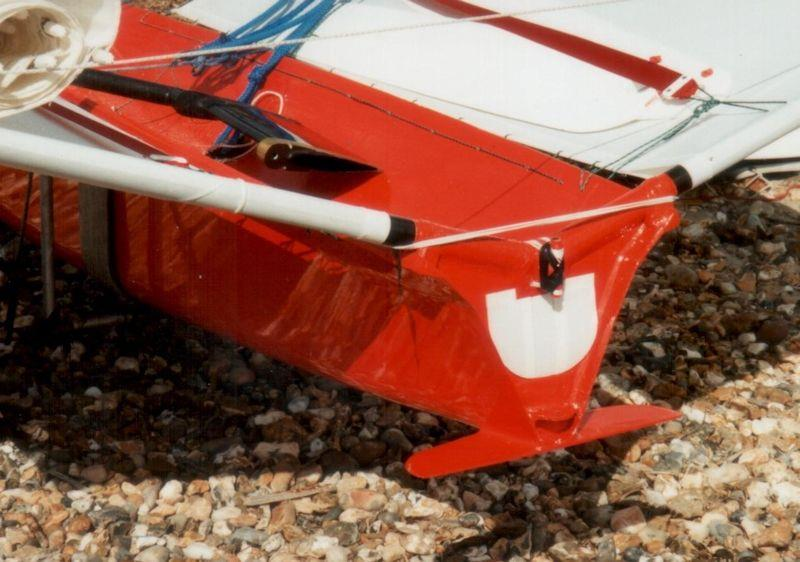 Moth developement: when hulls got so narrow you had to add wings to help stop the boat from pitching around - photo © IMCA
