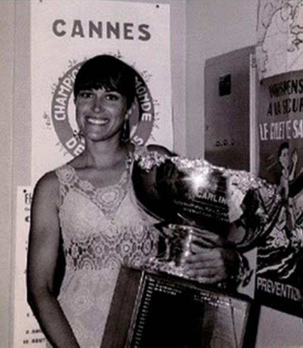 Marie Faroux wins the International Moth 1968 World Championships in a Duflos design - photo © IMCA