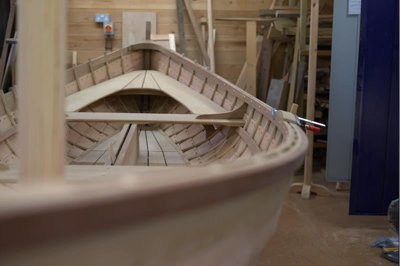 Martinicus 16ft double-ended clinker sailboat built at a Hampshire school - photo © NorthSeatoBlackSea
