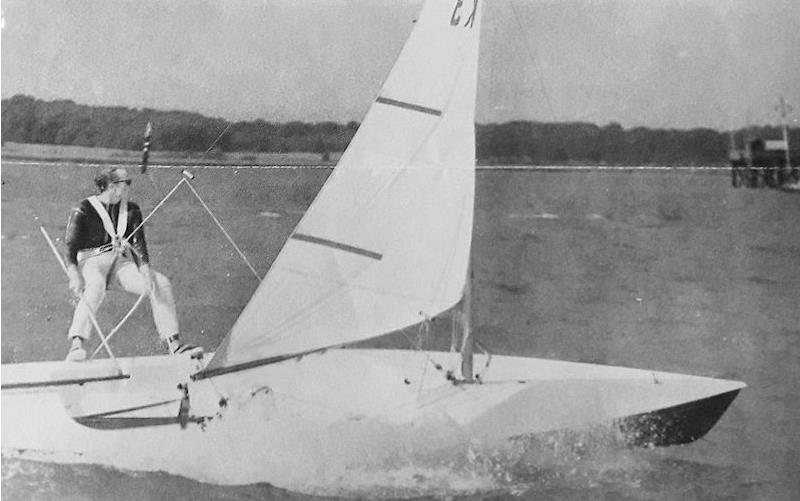 Today the Contender may well be seen as overweight and underpowered, but back when it first came out, it would break the speed barriers in the same way as the RS600 would do 20 years later - photo © Rondar Boats